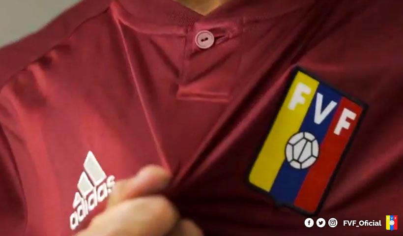Venezuela presentó su camiseta adidas para el 2018
